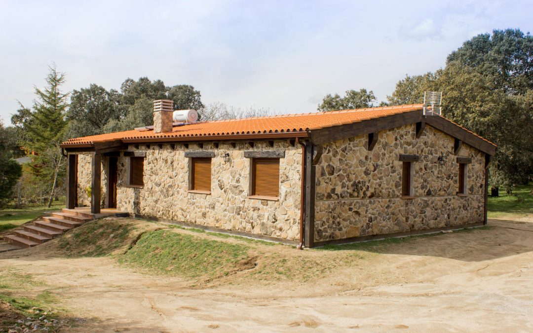 Casas de estilo Rústico