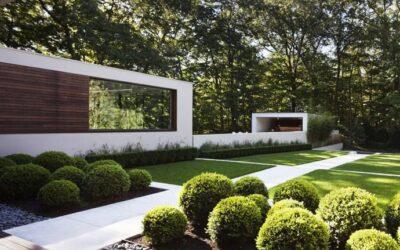 El jardín minimalista: complemento perfecto para tu casa prefabricada